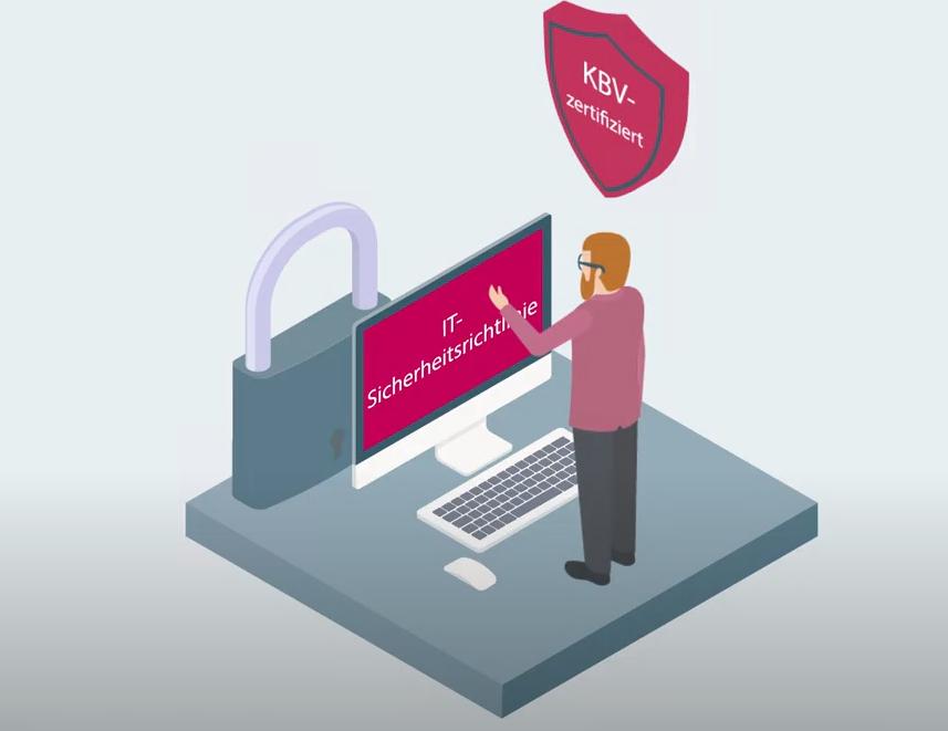 IT-Sicherheit KBV zertifiziert